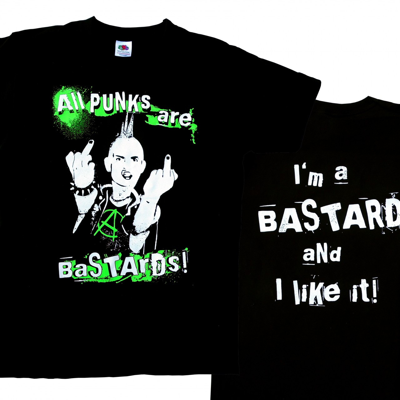 ALL PUNKS ARE BASTARDS