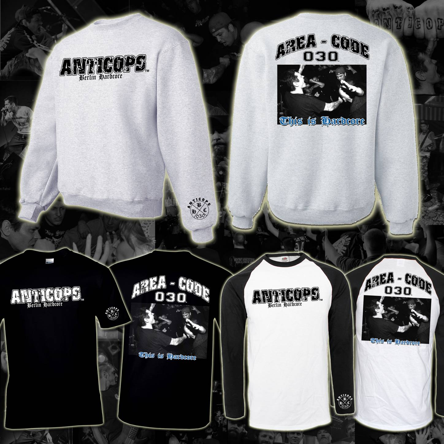 Anticops - This is Hardcore Bandmerchandise
