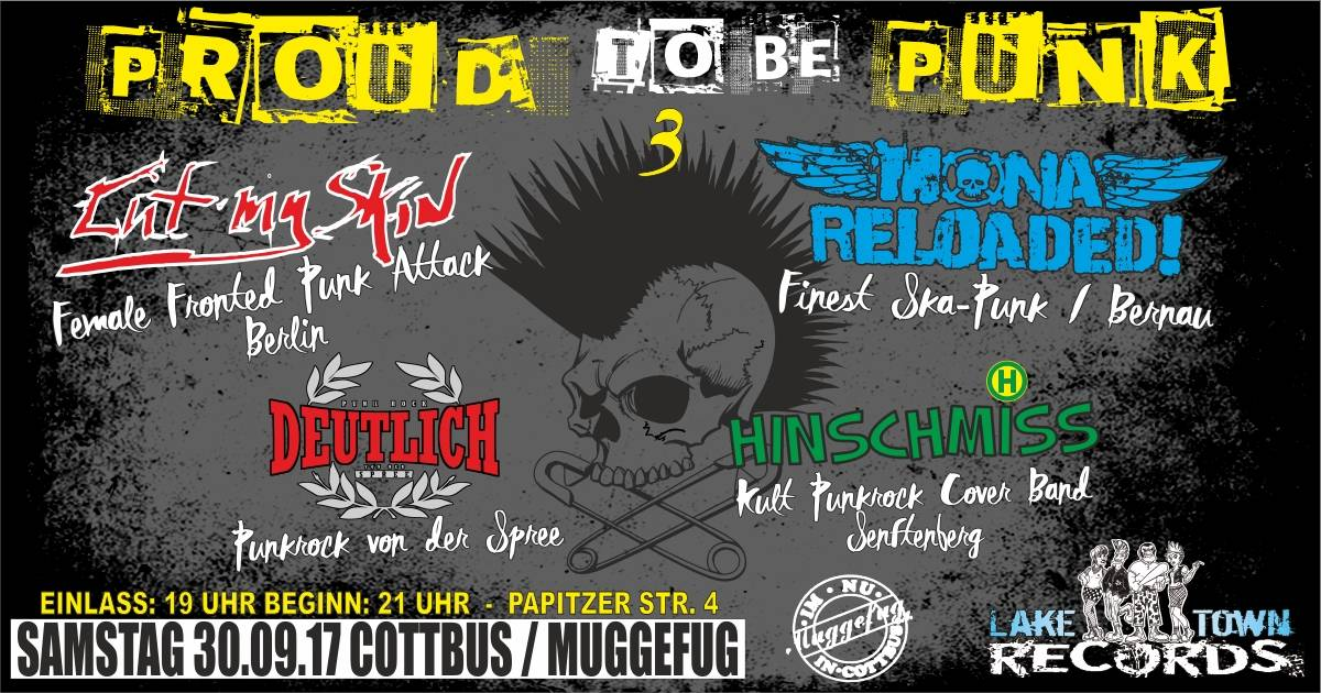 PROUD TO BE PUNK 3 KONZERTREIHE